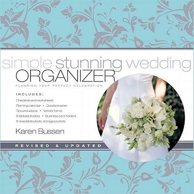 Simple Stunning Wedding Organizer By Bussen, Karen